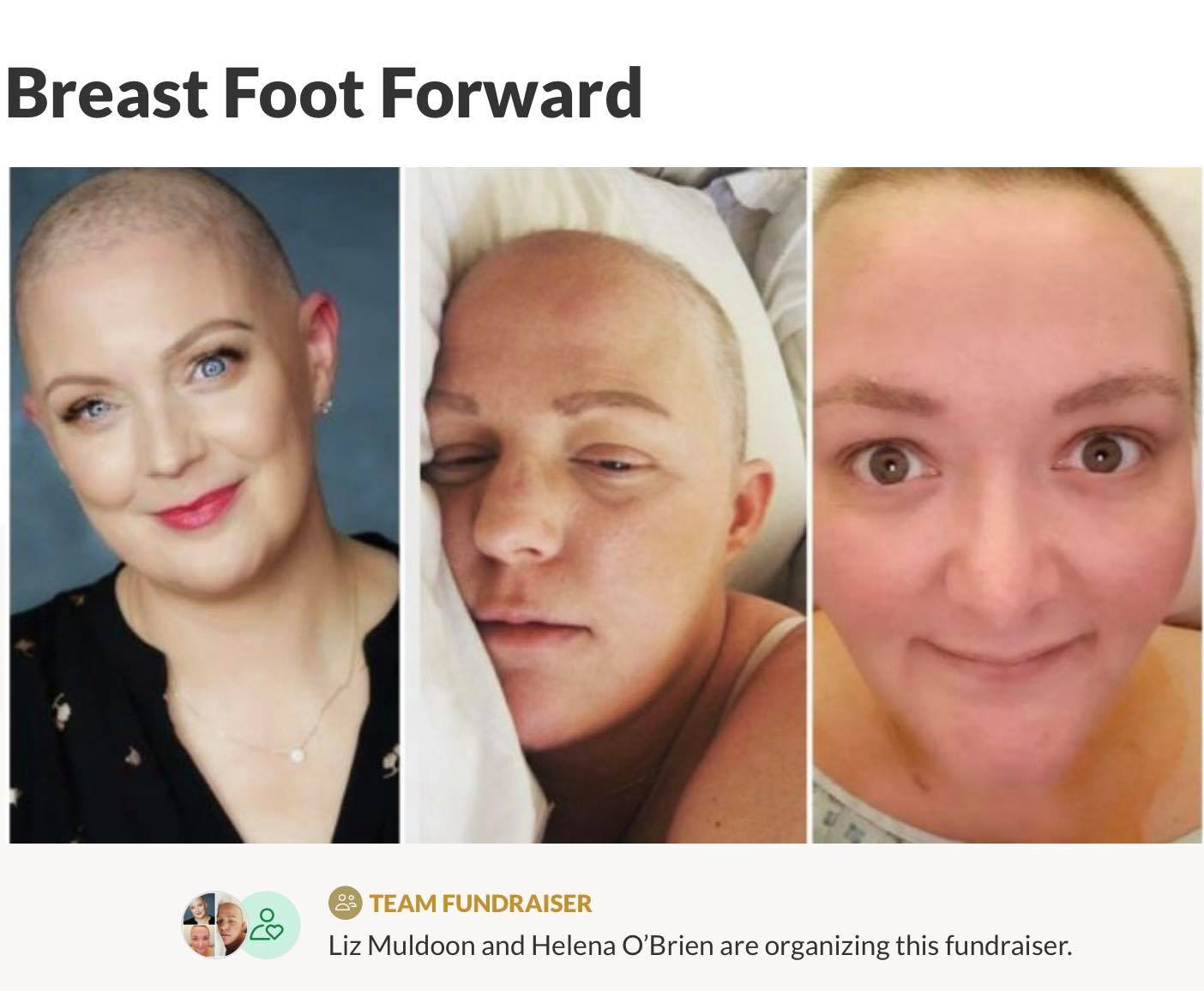 Breast Foot Forward